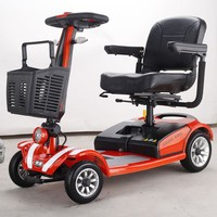 2016 new CE motor propel scooter sidecars trike for adult sidecars