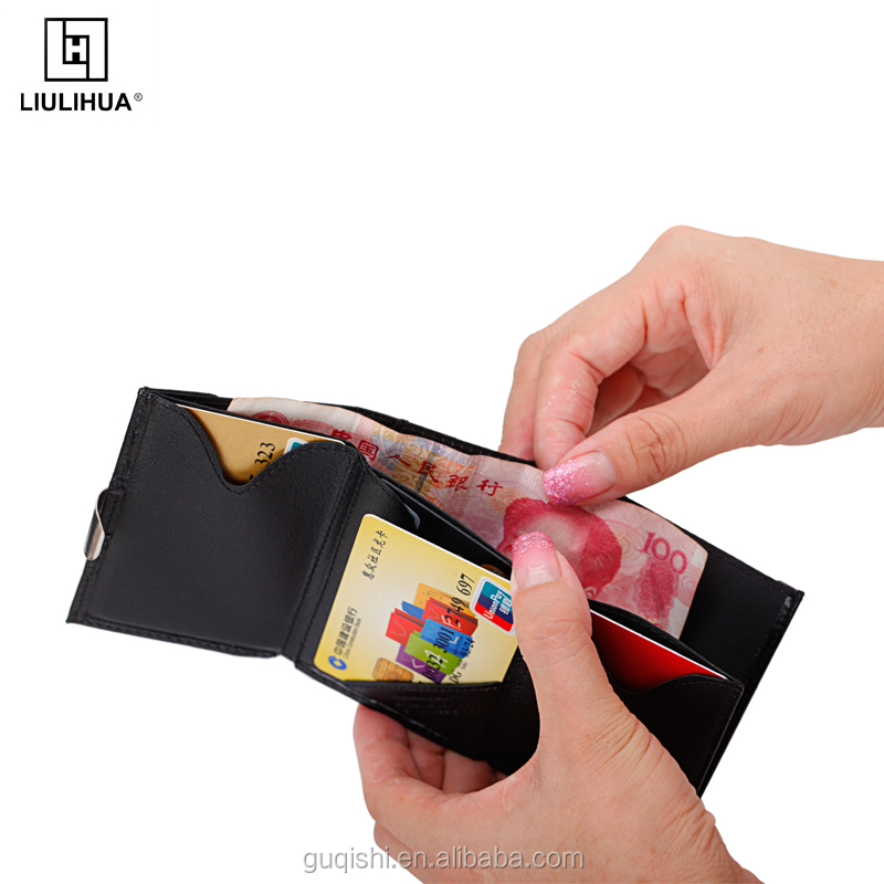 Hot Sale 2017 Business Card With Big Capacity and Exentri Style Wallet