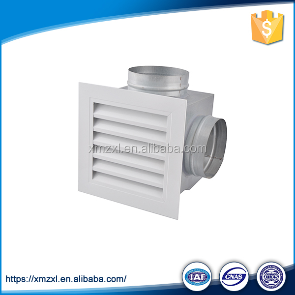 Anodized Aluminium Air Diffuser, Air Grille With Damper