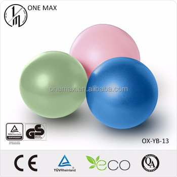 Soft Durable Yoga Ball For Outdoor Exercise in gymnastics