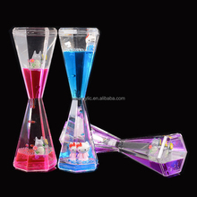 High standard acrylic plastic industrial drops of oil sand timer desktop furnishing articles