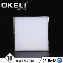 Warm white modern lighting dimmable multicolor 18w led panel light