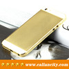 Gold with diamonds rear housing for iphone 5c back cover housing replacement