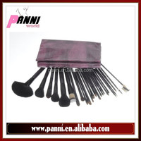 24pcs magic beauty makeup brushes goat,pony,nylon,fox hair brush