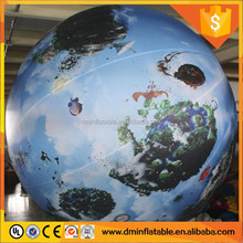 Led lighting Inflatable Hanging nine Planets/solar system Balloon /inflatable moon ball for sale