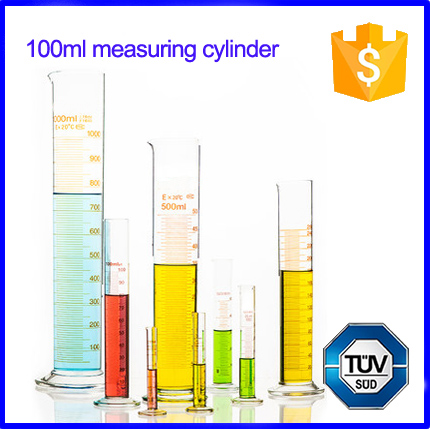 Lab Glass Measuring Graduated Cylinder for Lab Use