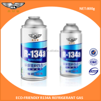 800gr ISO9001 99.99% purity refrigerant gas r134a