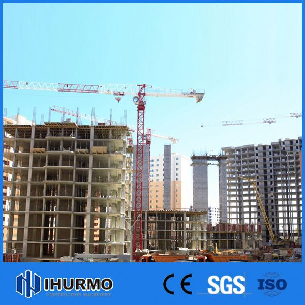 0-25ton Affordable tower crane on building