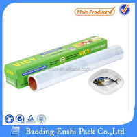SGS certified good quality PE plastic cling film/ food wrap