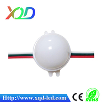 shenzhen XQD individual 30mm 5050 LED dmx moonlight led ball light changing color for christmas tree project,stage,club P9883