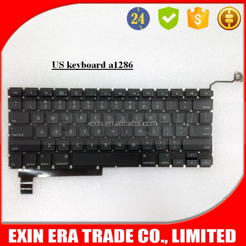 "For Apple Macbook Pro Unibody 15"" A1286 us Keyboard With Backlight 2009 2010 2011 2012"