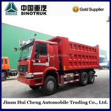 6*4 sand transport rear tipper dump truck for sand&stone transportation