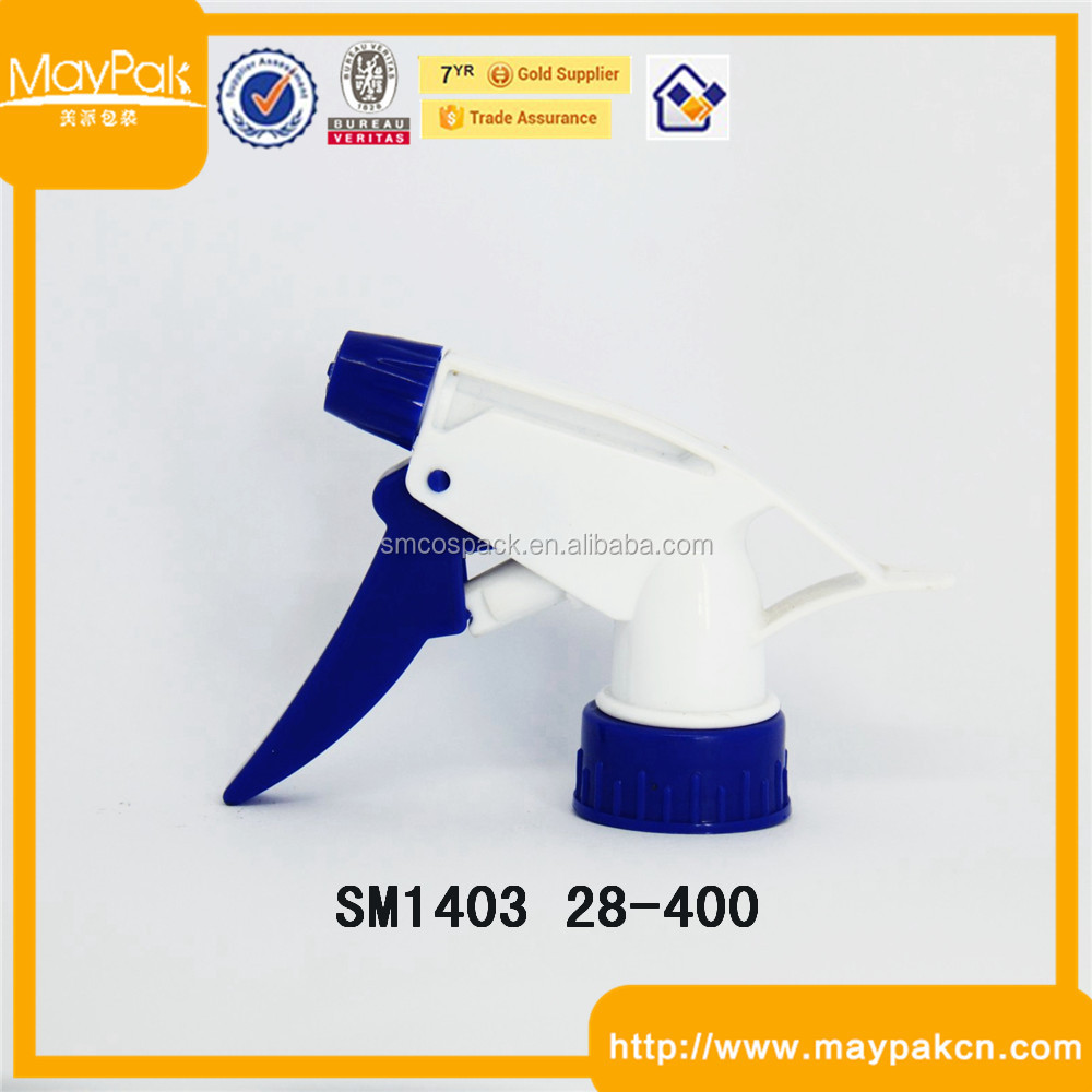 Portable plastic triger sprayer head,water mist trigger sprayer