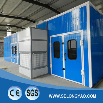 Dust Free Furniture Spray Baking Booth with CE