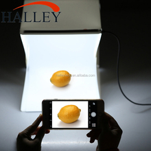 22.6 * 23 * 24cm Photography Equipment Softbox Kit Led White Light Portable Mini Photo Studio