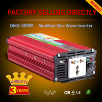 Off grid single phase dc ac 12v 24v to 220v 300w 500w car electric inverter for house 50hz to 60hz made in china