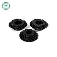 Factory custom Hot sale cnc machined nylon small plastic gears worm