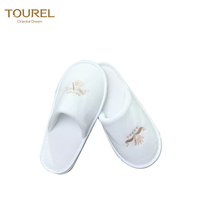 Washable Disposable Wedding Slippers for Guests Hospital Custom Slippers