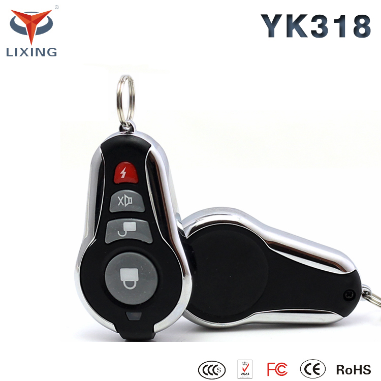 New design manual car alarm system car alarm with anti-hijacking function for car safeguard