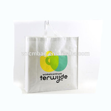 Recycled White PP Woven Bag with Printing