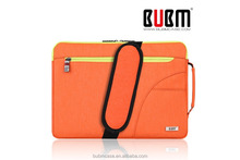 BUBM laptop bag with zipper and fancy durable lady laptop bag