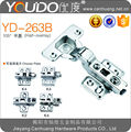 two way clip on stainless steel cabinet hinge