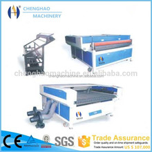 2016 CHENGHAO Laser cutter fabric cnc cutting machine auto feeding table