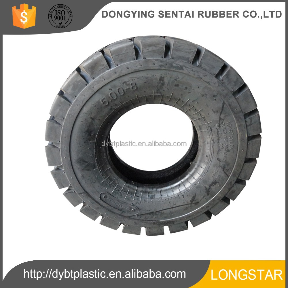 Hot sell 2017 new products forklift tyre wheel&rim 5.00-8