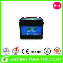 Factory 55AH Lead Acid Batteries Car Battery 12v
