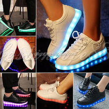 USB rechargable Shoes led strip light 3528 led strip flashing light for shoes/clothing 5V 600mm