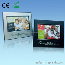 7 inch hd screen lcd advertising video brochure card with 2gb memory