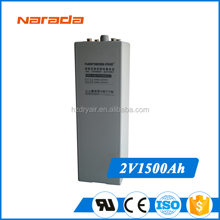 Narada Ares Series Ev 2V 6dm14 Bottle 1500Ah Vehicle Battery