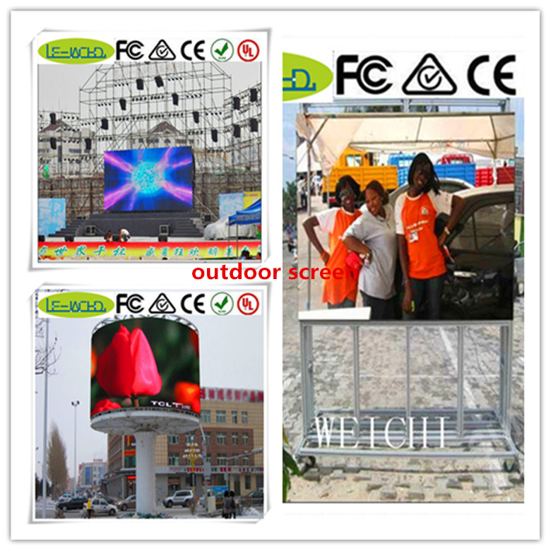 solar panel aluminum framing p5 outdoor rgb smd led display smd p5 led video display screen