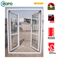 China supplier top quality two leafs front apartment door