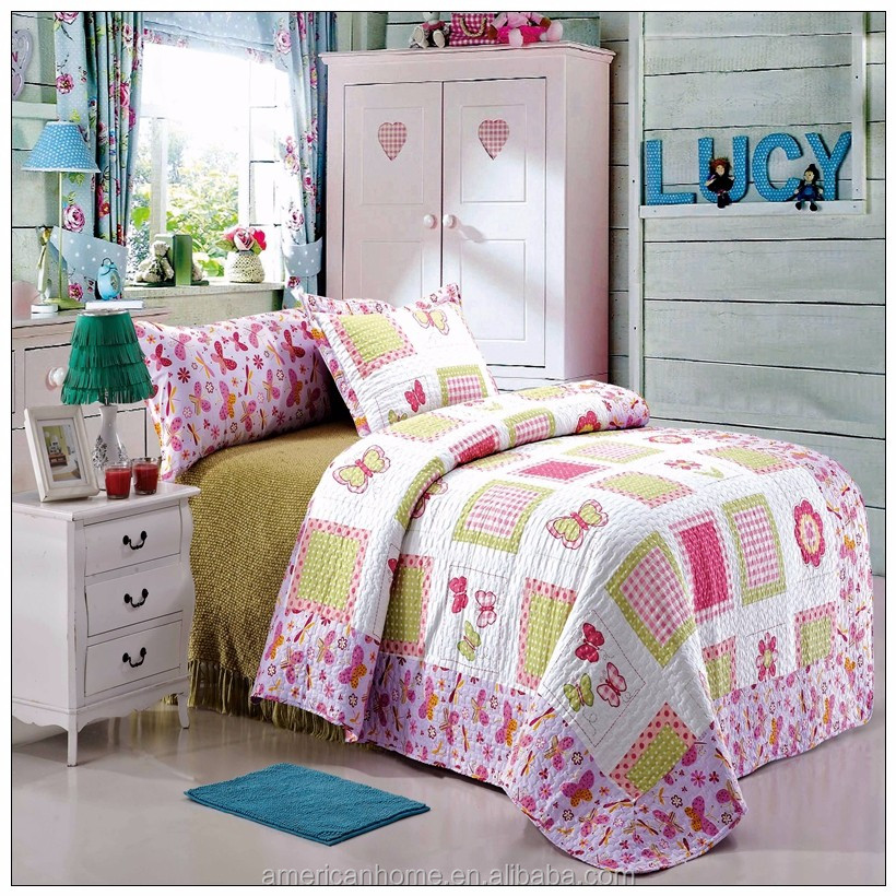 Print Microfiber Indian Patchwork Quilts Wholesale