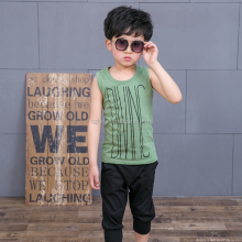 Boys suit children fashion vest shirts and pants sets