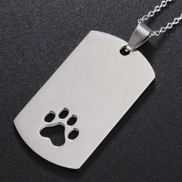 Stainless Steel Jewelry Main Material <strong>Metal</strong> and Crystal cheap army dog tags