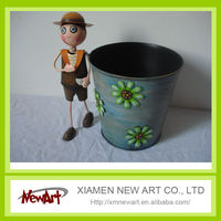 disposable plant pot boy flower plant pot