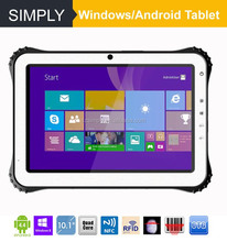 Simply T8 8 inch tablet 4g with windows10/android4.4.4 1D/2D barcode scanner NFC reader GPS 2+32GB Bluetooth 4.0