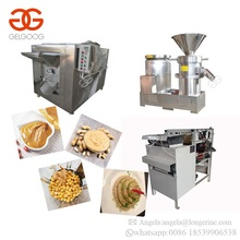 Industrial Soybean Butter Production Line Peanut Butter Chickpea Hummus Colloid Grinder Almond Paste Making Machine
