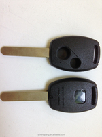factory wholesale 2 button car remote key cover for Honda auto key shell