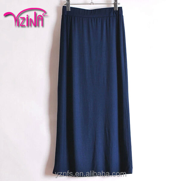 Hot sell casual long womans pencil skirts