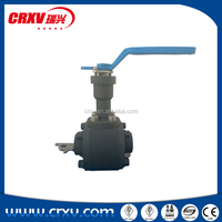 High Quality Forged Steel Ball Valve