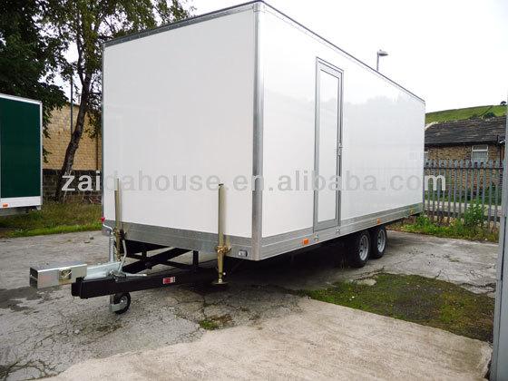 col de cygne cheval trailer portable toilettes mobile remorque toilettes maisons pr fabriqu es. Black Bedroom Furniture Sets. Home Design Ideas