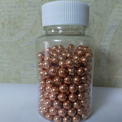 In stock 6mm 7mm 8mm solid pure copper balls for bearing