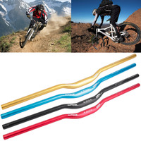 NEW 31.8 x 780 mm MTB Mountain Bike Bicycle Aluminum Alloy Riser Handlebar