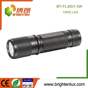 Supply Cheap Price Best Aluminum Material Portable element 3 watt led flashlight with 3*aaa battery