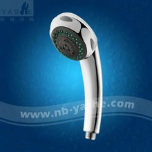 ABS Plastic Chrome Shower Protection Spray Shower Head and Hand Shower Round Face EYS 3162