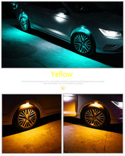 HTAUTO Wholesale Waterproof Wheel Led Light Wheel Lamps LED Car Wheel Decoration LED Light For All Cars