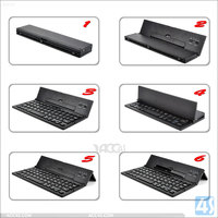 Slim Mini Folding Universal Wireless bluetooth 3.0 keyboard for Windows / Android/ios tablet & pc&phone